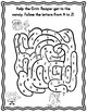 Halloween Alphabet Letter Mazes