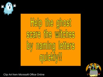 Halloween Alphabet Letter Recognition