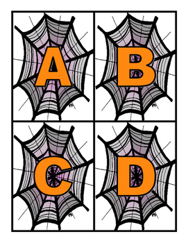 Halloween Alphabet - Letter and Sound Match