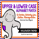 Halloween Alphabet Matching