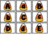 Halloween Alphabet Matching