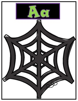 Halloween Alphabet Matching Game