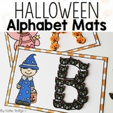 Halloween Alphabet Mats