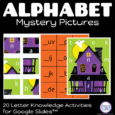 Halloween Alphabet Mystery Pictures | Google Slides Distan