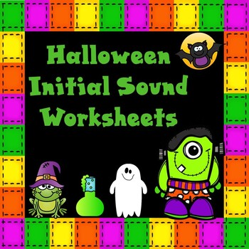 Halloween Alphabet Practice