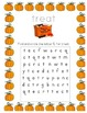 Halloween Alphabet Recognition