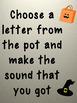 Halloween Alphabet/Sounds Game