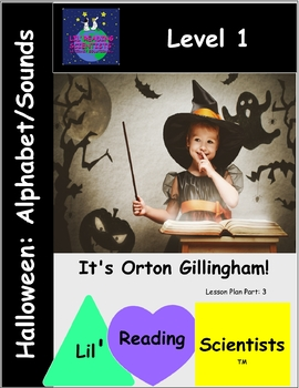 Holiday: Halloween Alphabet Sounds Match!
