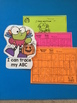 Halloween Alphabet and Number Practice for Toddlers