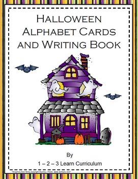 Halloween Alphabet and Writing Book