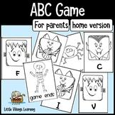 Halloween Alphabet sounds game - PARENT version