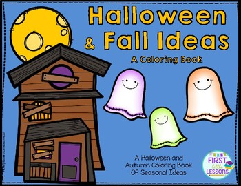 Halloween And Fall Ideas: A Coloring Book