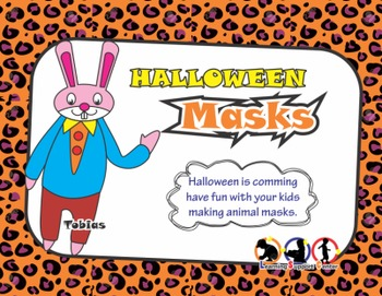 Halloween Animal Masks