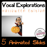 Halloween Animated Vocal Exploration Cards