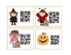 Halloween Antonym QR Code Cards