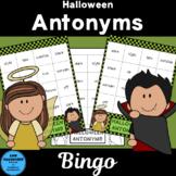 Halloween Antonyms Bingo