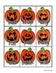 Halloween: Bats and Jack-o-Lantern Antonyms Match