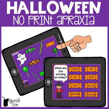 Halloween Apraxia No Print