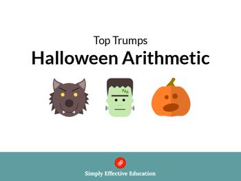 Halloween Arithmetic Top Trumps