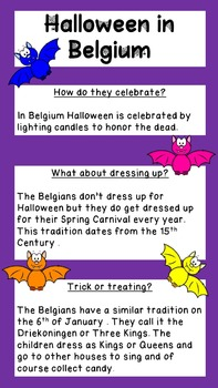 Halloween Around The World English and Crafts