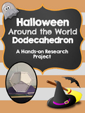 Halloween Around the World Dodecahedron