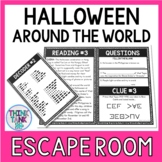 Halloween Around the World Escape Room Activity