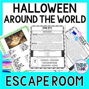 Halloween Around the World Escape Room!   Halloween-like traditions