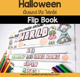 Halloween Around the World Flip Book: Interactive Activity for Grades 3-5