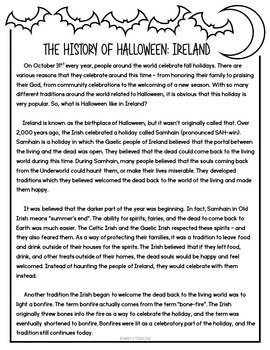 Halloween Around the World - Ireland