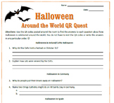 Halloween Around the World QR Quest