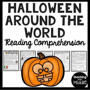Halloween Around the World Reading Comprehension Worksheet