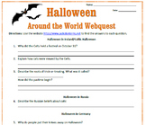 Halloween Around the World Webquest