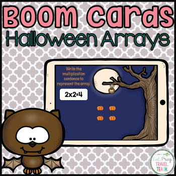 Halloween Array Boom Cards