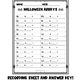 Halloween Array Task Cards