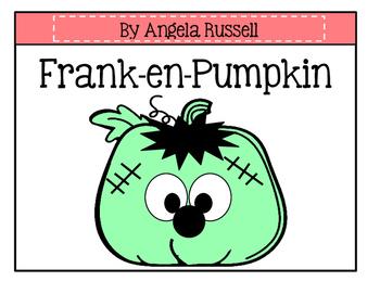 Frank-en-Pumpkin ~ Halloween Art Activity