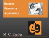 Escher, Tesselation, Math & Halloween Art Activity