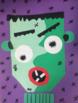 Halloween Art Fun! Cubism + Frankenstein = CUBINSTEIN!