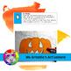 Halloween Art Lesson, Jack-O-Lantern Art Project