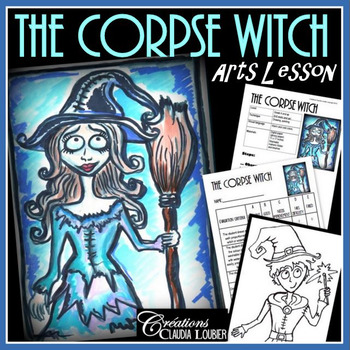 Halloween Art Project: Corpse Witch