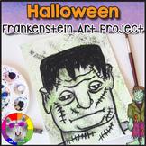 Halloween Art Project, Frankenstein