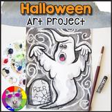 Halloween Art Project, Ghost