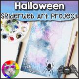 Halloween Art Project, Spiderweb