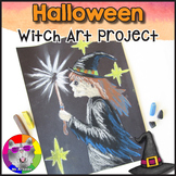 Halloween Art Lesson, Witch Art Project