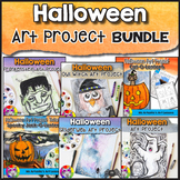 Halloween Art Projects BUNDLE