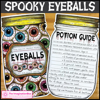 Halloween Art Activity and Spooky Writing