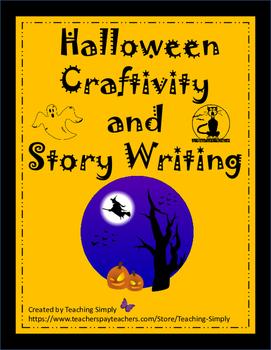Halloween Art and Writing Craftivity - Fun and Educational