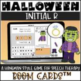 Halloween Articulation BOOM Cards™ - Initial R - Hangman Game