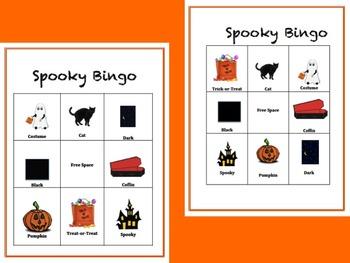 FREE: Halloween Bingo Articulation K
