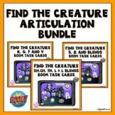 Halloween Articulation Boom Cards Activity