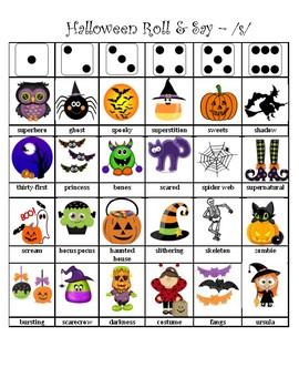 Halloween Articulation Dice Roll - S